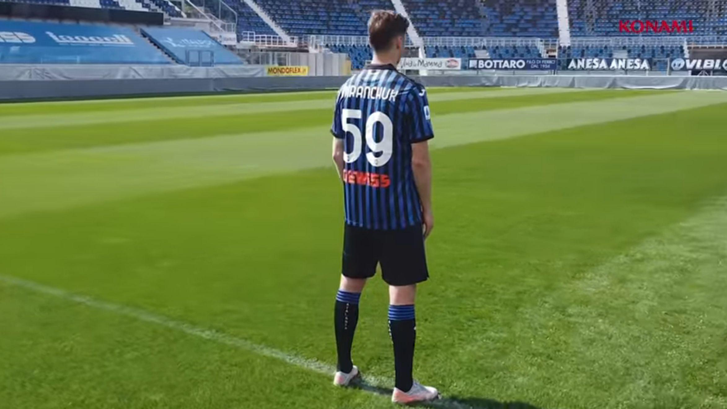 Atalanta x eFootball PES 2021