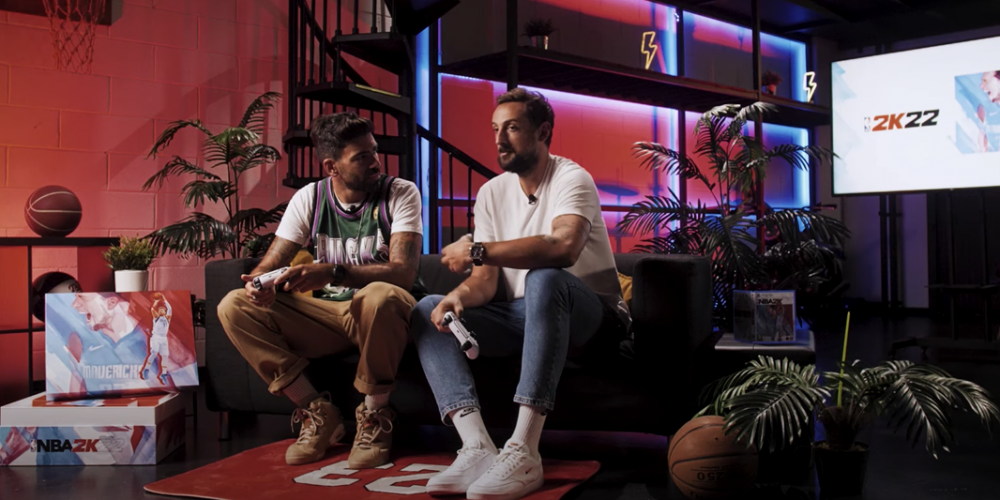 NBA 2K22, Gianluca Gazzoli intervista Marco Belinelli